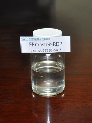 Cina FRmaster RDP ABS Additives in PVC / Rubber / Plastics , CAS No. 57583-54-7B pabrik